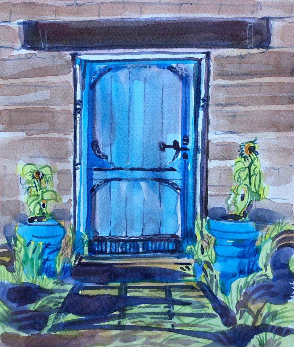 Blue Door, Old Tubac