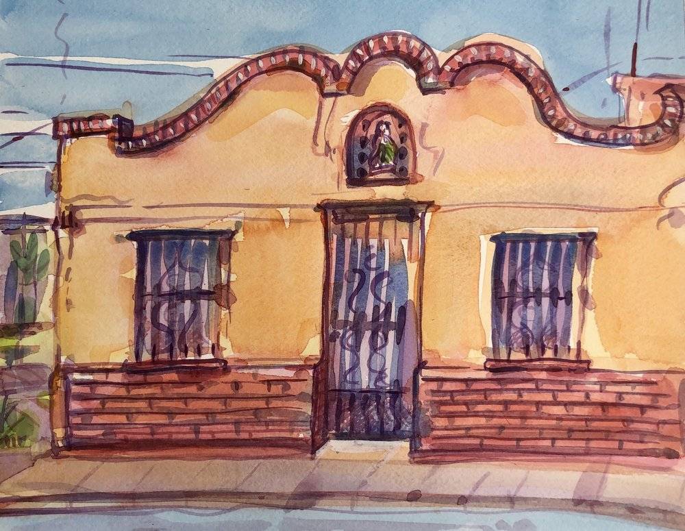 Street Scene, Nogales, Sonora