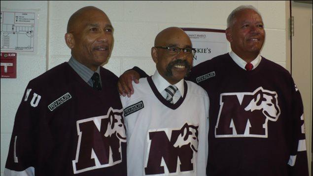 (L-R) Bob Dawson, Percy Paris and Darrell Maxwell