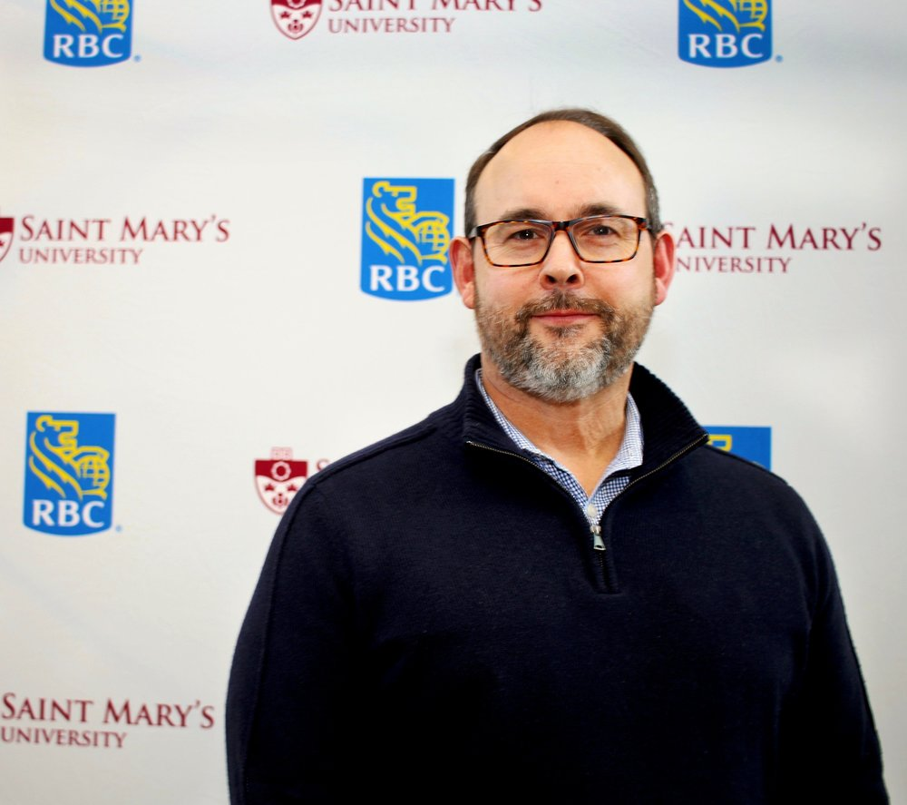 Gregg Curwin (BComm'90), the inaugural RBC Entrepreneur in Residence