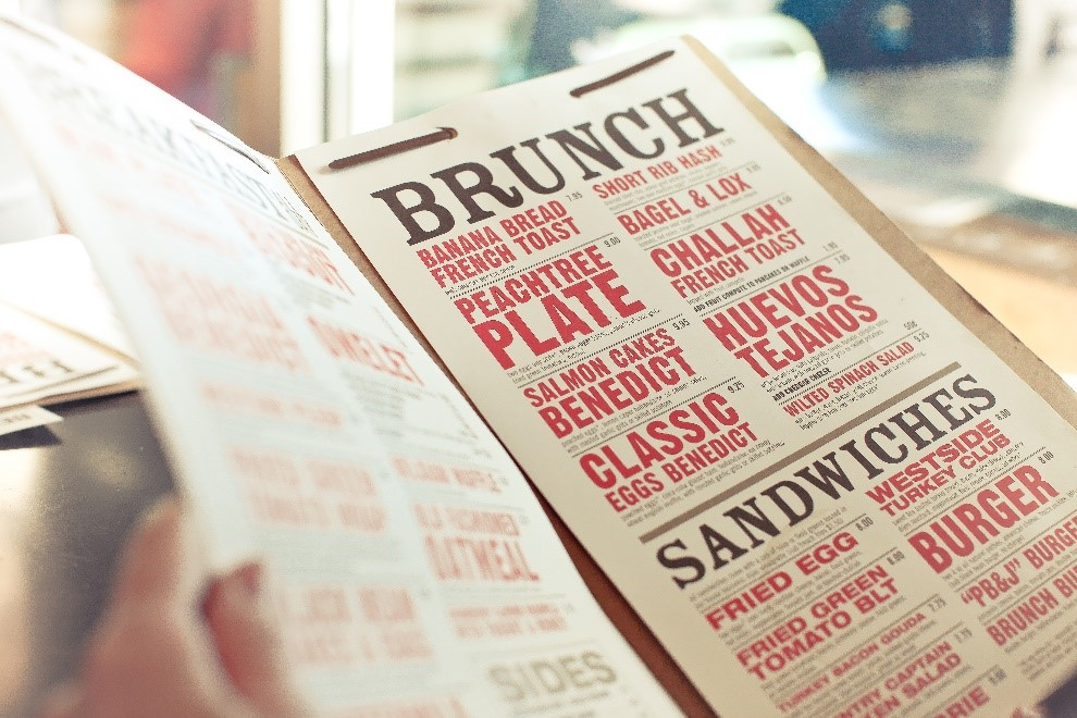 the importance of great menu design takeout pr