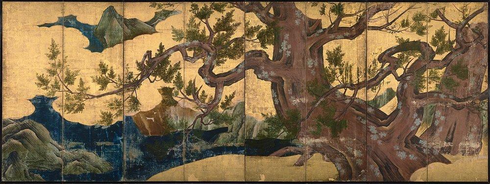 1280px-Kano_Eitoku_-_Cypress_Trees.jpg