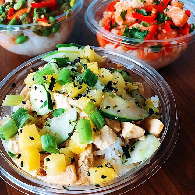 So fresh and so clean 🥗 . . . . . . #dothehokepoke #hokepoke #pokebowlgoals #pokebowl #dtlafoodie #dtlalove #foodies #foodstagram #sushilover #spicytuna #salmonpoke #lafoodie #foodporn #foodbeast #foodstagram #yelpla #dinela #eaterla #laeater #healthyeats #mealprep #foodbeast #postmates #nohoartsdistrict #northhollywood #lafoodie #labites #vegan #yogisofinstagram
