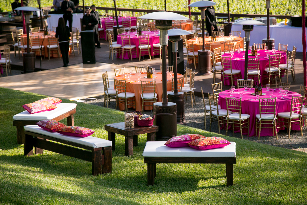 BR Cohn Winery Wedding | Anais Events | Tim Halberg Photography | Featured in Harper's Bazaar India