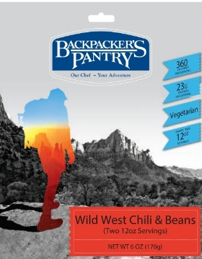 Backpacker's Pantry freeze dried meal
