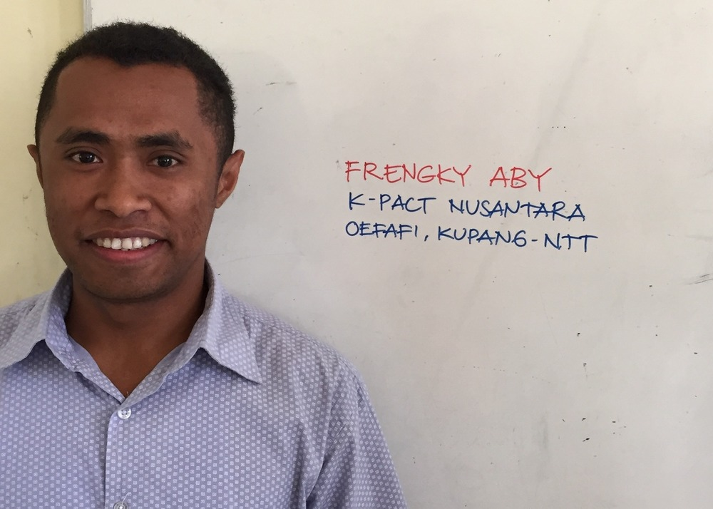 Frengky, one of the pastors you help support by giving to Catalyst!