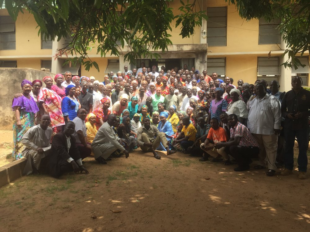 First training cohort in Kaduna, Nigeria