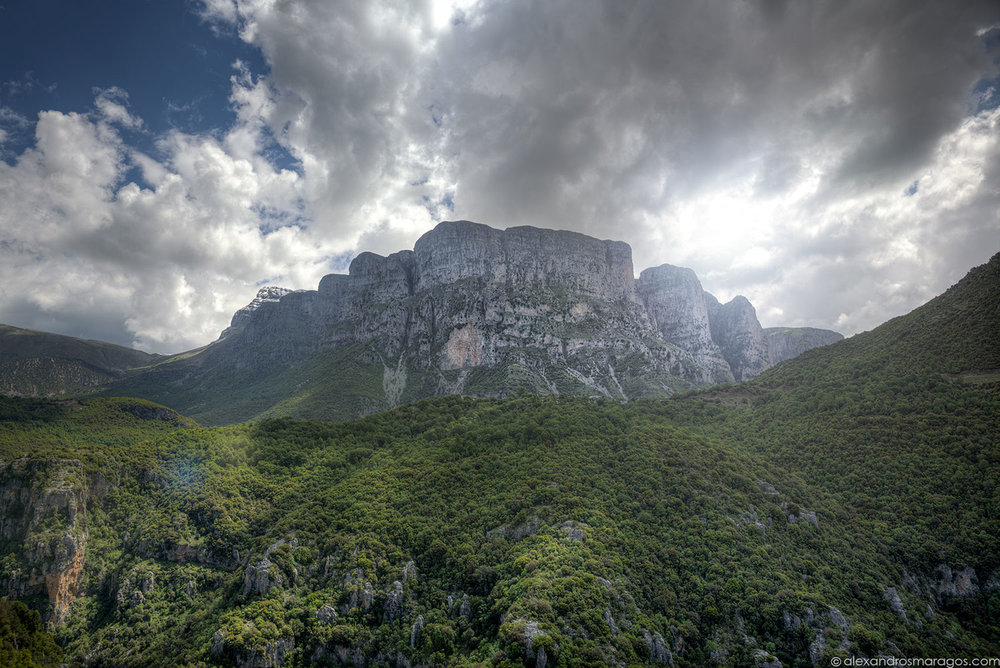 Vikos West Face
