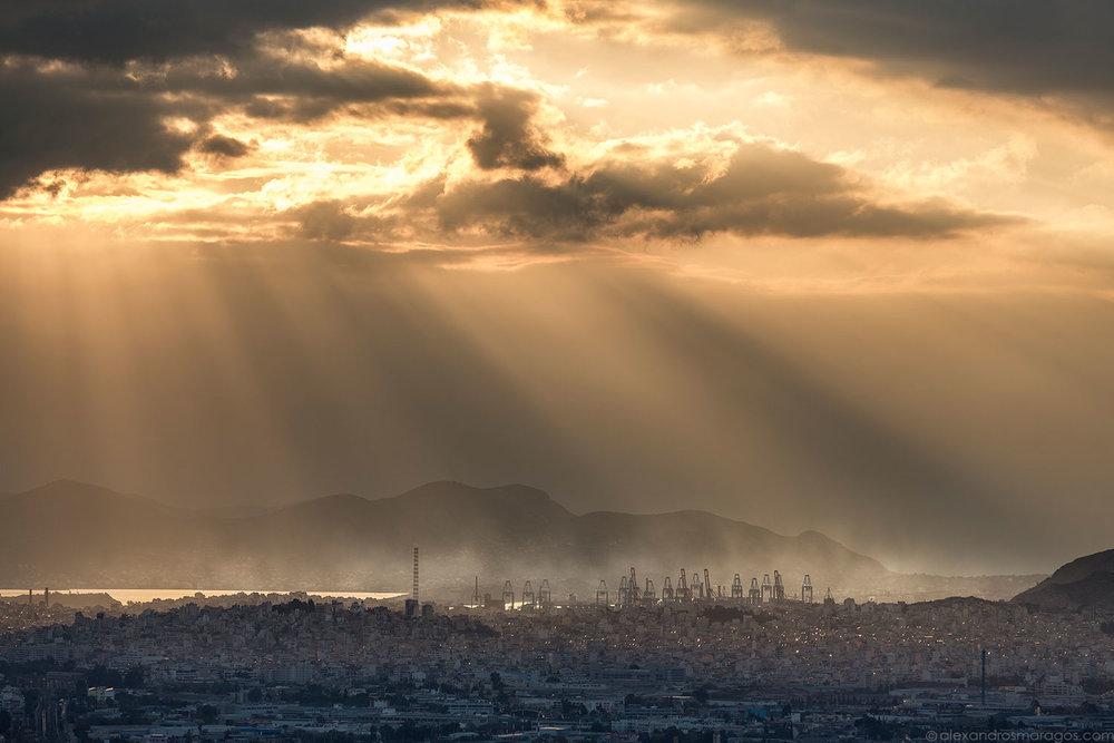 Industrial Sunset |© Alexandros Maragos