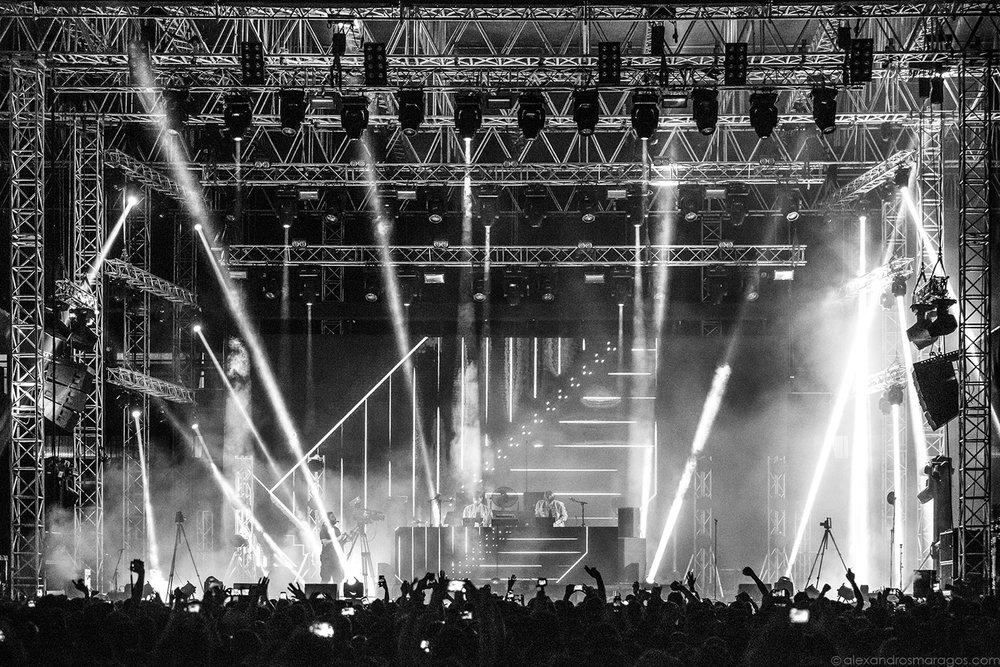 Röyksopp - Release Athens 2017 |© Alexandros Maragos