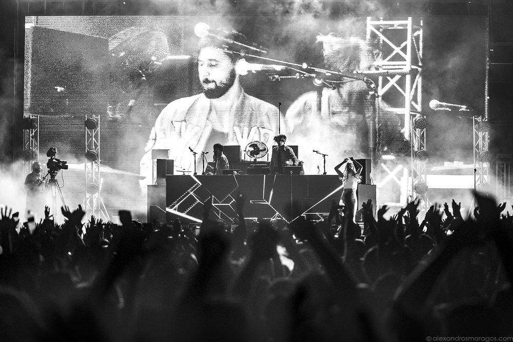 Röyksopp -Release Athens 2017 |© Alexandros Maragos
