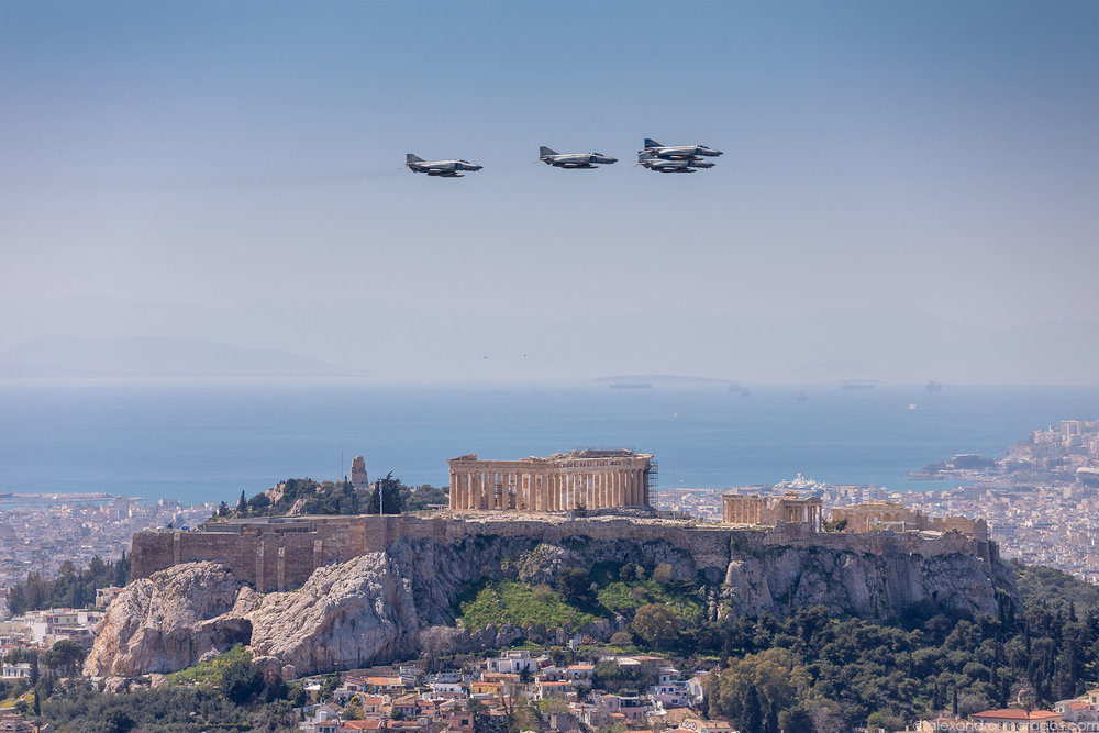 Greek Independence Day Celebrations, March 25, Athens, Greece | © Alexandros Maragos
