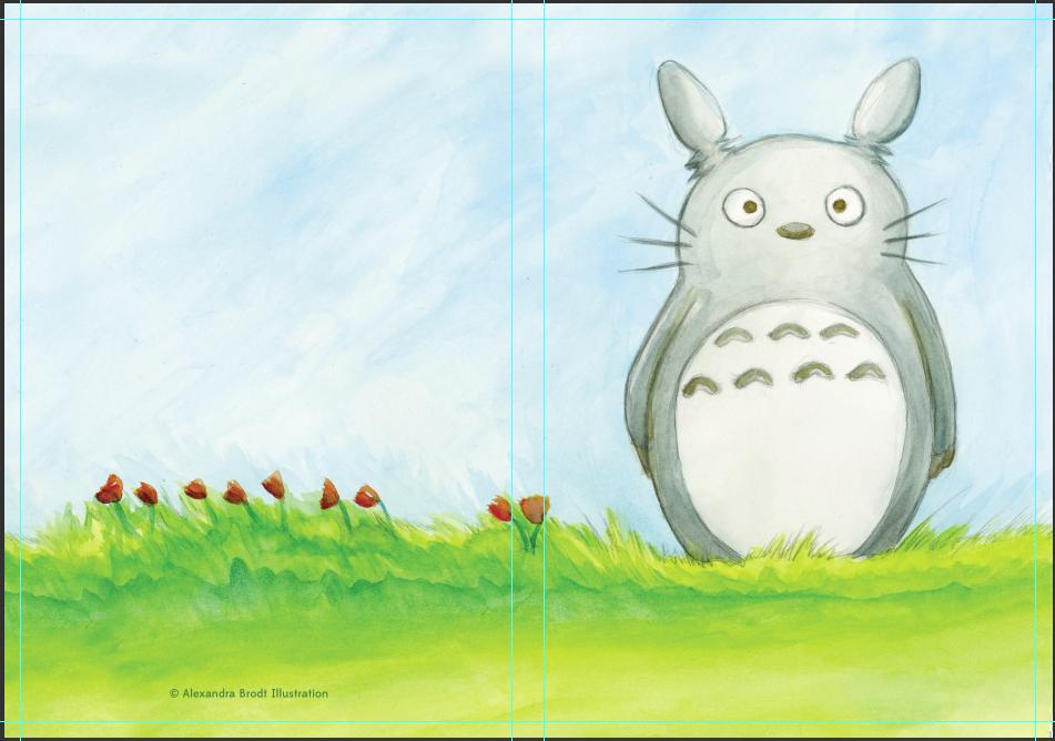 Totoro Sketchboook!