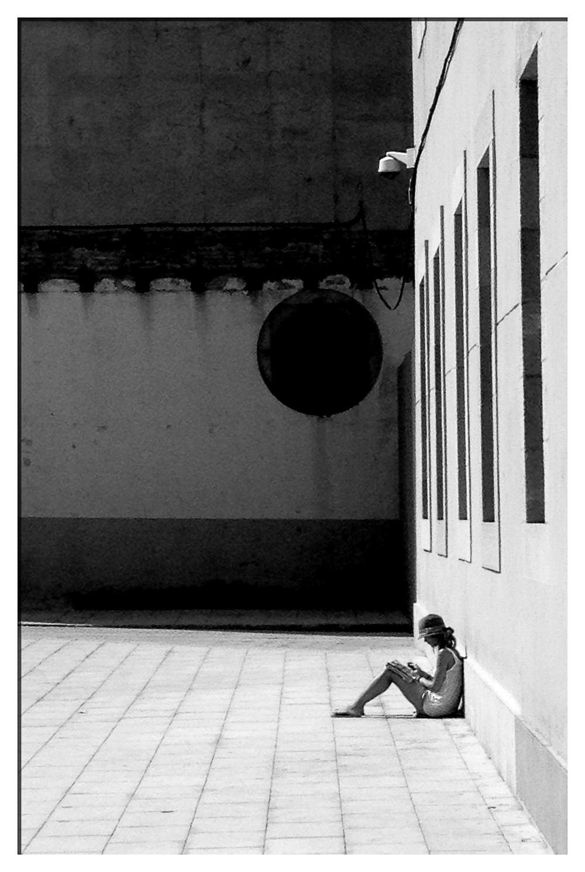 Studying, Barcelona.jpg