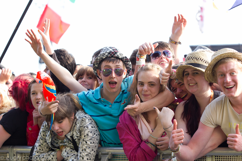 Crowd at TITP main stage