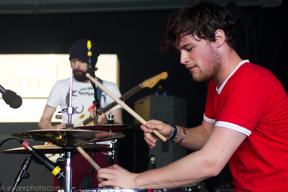 Purveyors of true monster rock, Bronto Skylift melted faces from the BBC Introducing stage