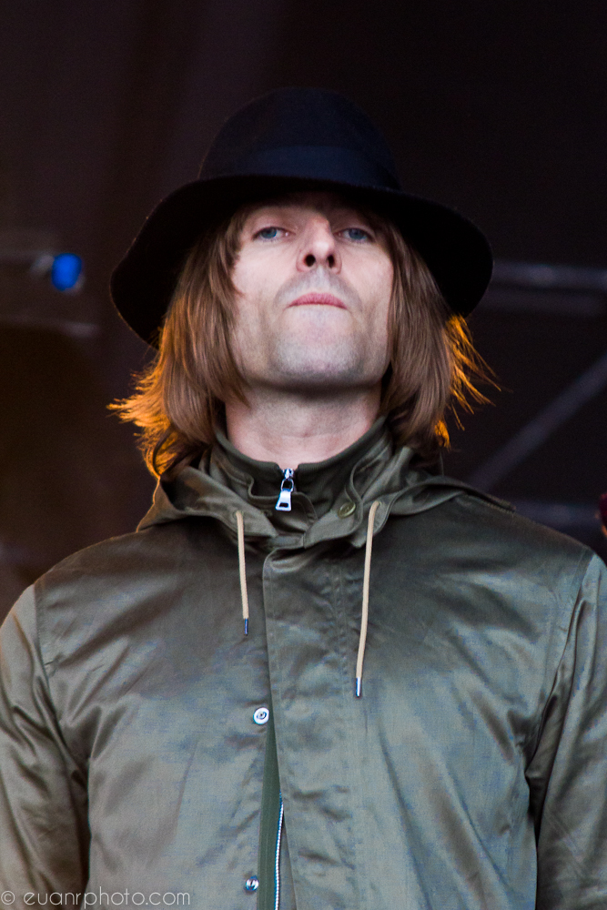 Liam Gallagher may be fronting a new band but the spit and swagger hasn't changed