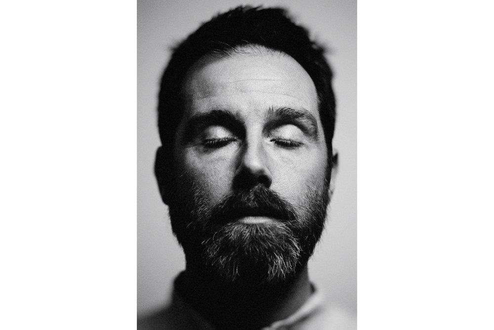 Luke Daniels, photographed for album art & promo.