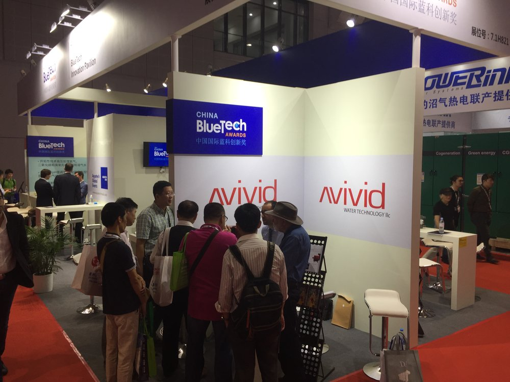 Copy of Avivid Technologies received interested Chinese parties in their booth
