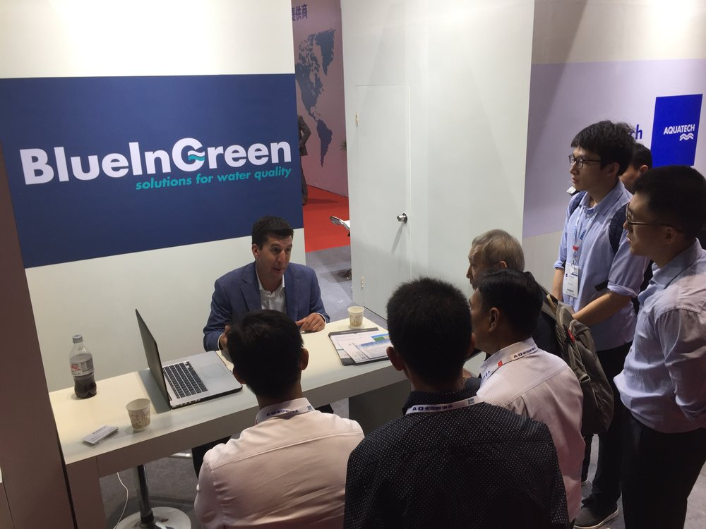 Copy of Chris Milligan of BlueInGreen introduces BIG's technology benefits to Chinese customers