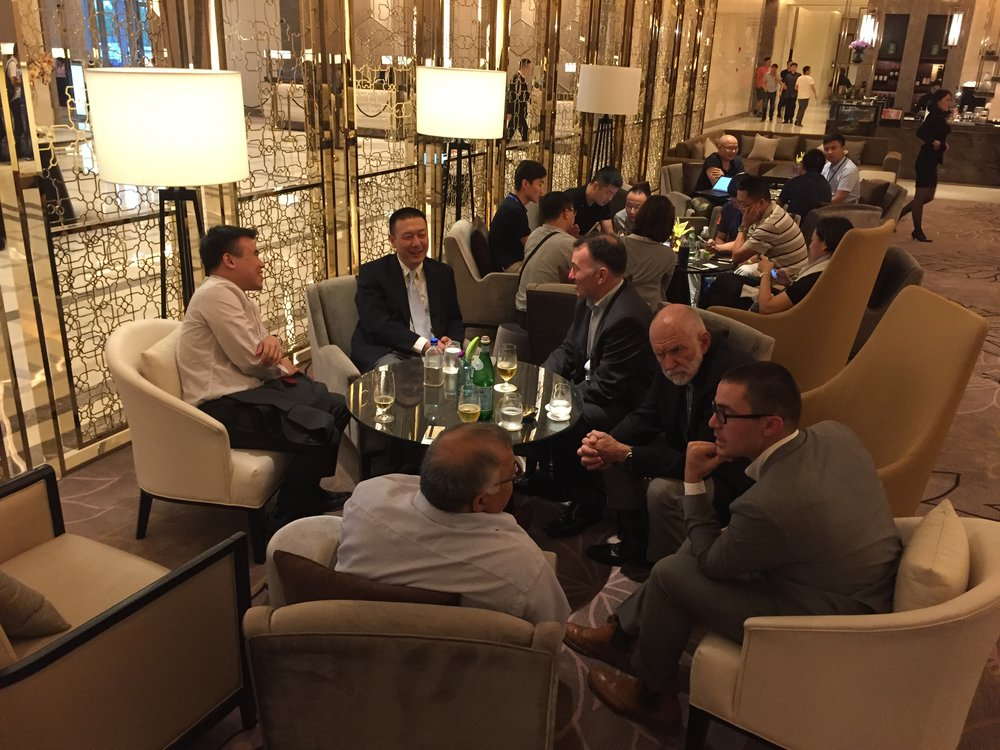 Copy of Finalists gathered to discuss doing business in China