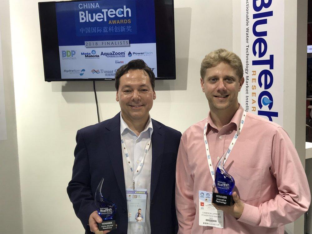 2018 Winners, Aquazoom and PowerTech Water