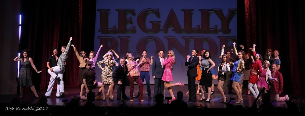 The Company of  Legally Blonde