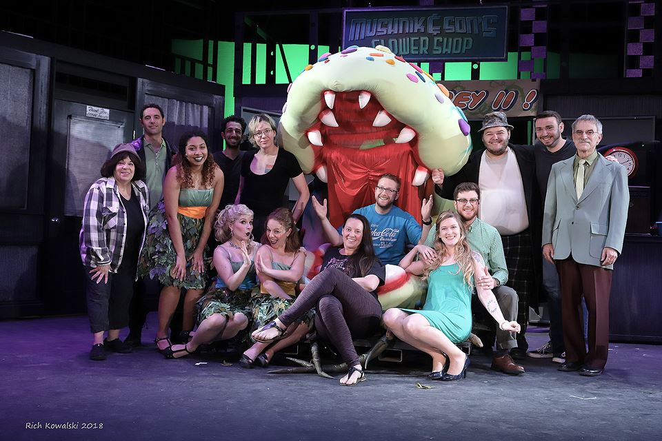The Cast, Crew and Production Staff of  Little Shop of Horrors