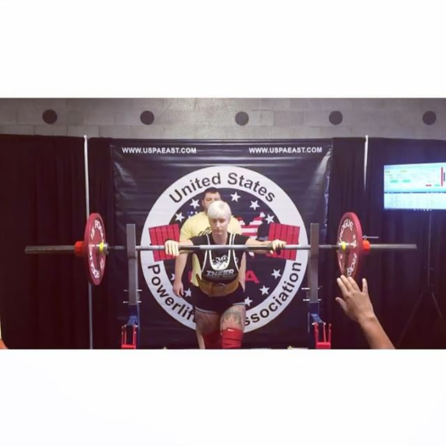 Busted out a 606 total at my second powerlifting meet which is a 61lb pr even though I missed my third bench and deadlift. Hit a 203lb squat, 126lb bench and a 275lb deadlift.