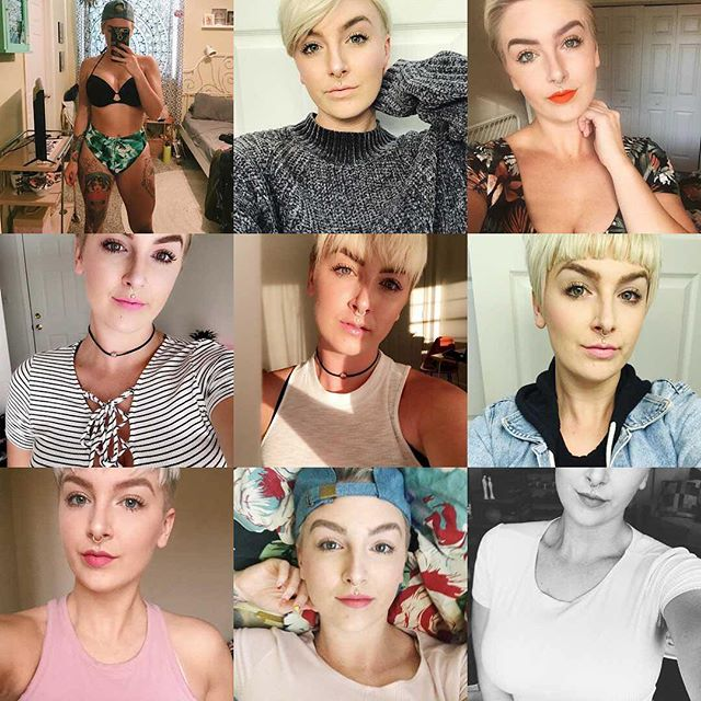 The people have spoken. Only selfies and bod photos in 2018. 😂 #2017bestnine
