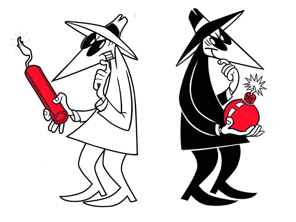 Spy vs Spy - Wine vs Wine?