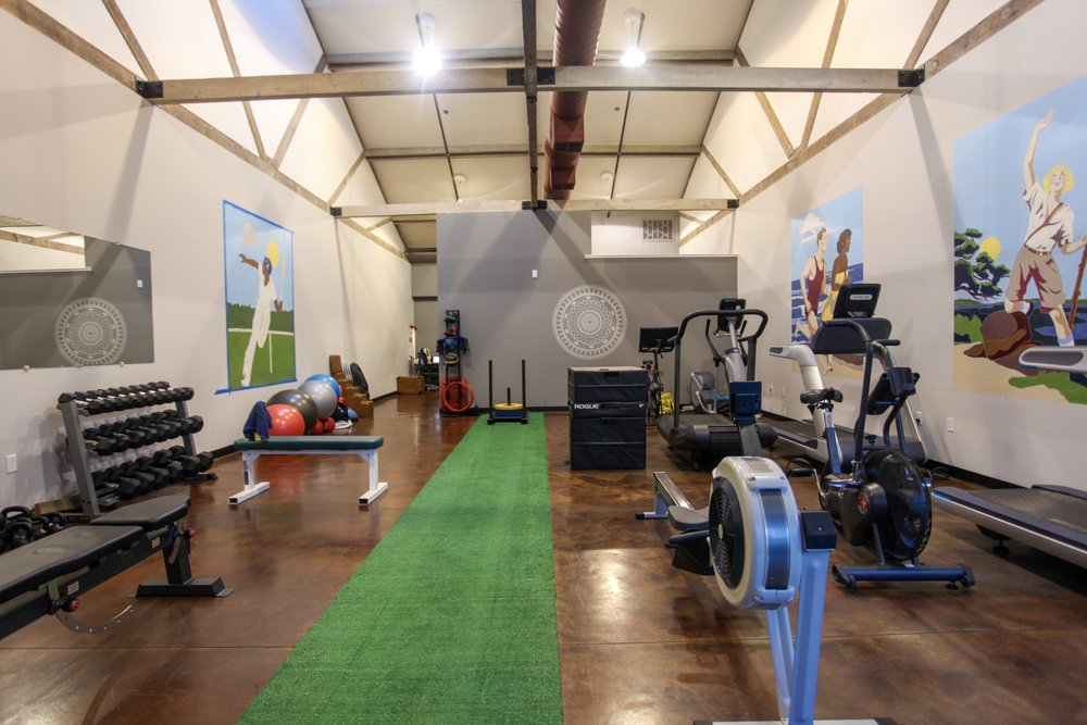The gorgeous inside of the Bare Health Fitness & Wellness located at 1005 Caymus St Napa, CA 94559