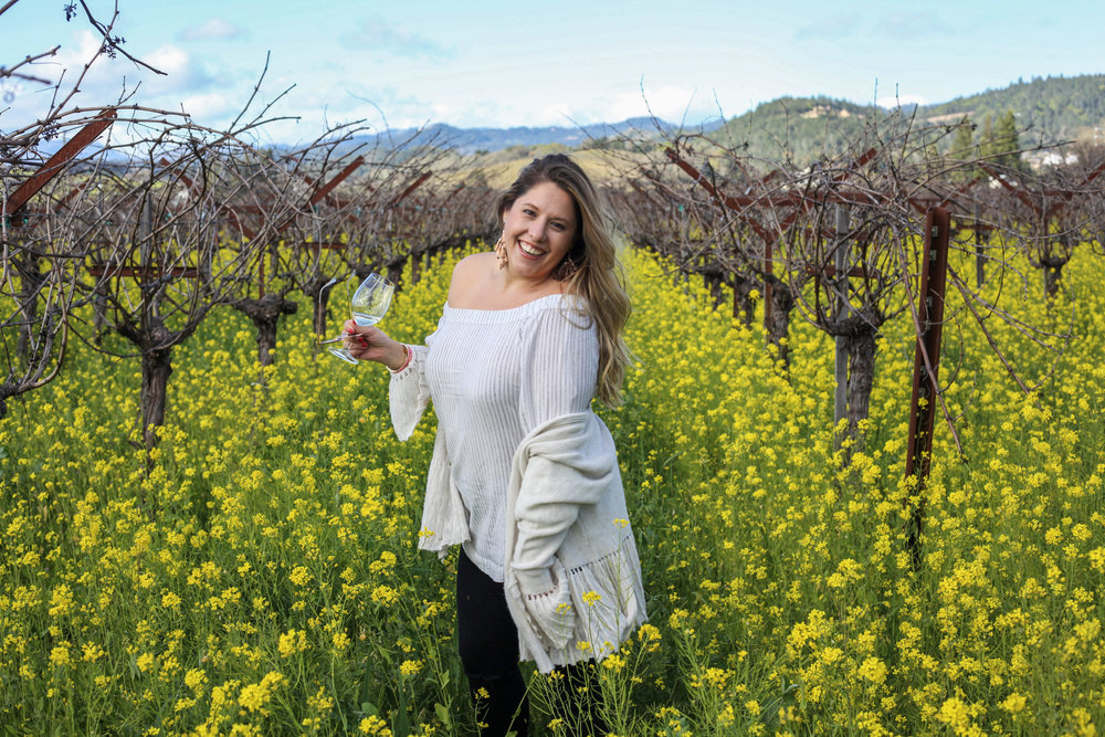 Mallory - Born in the Napa Valley to the best parents in the world! I am proud of my Napa Valley heritage, built on strong values, most of which rely on hard work and making it look like were hardly