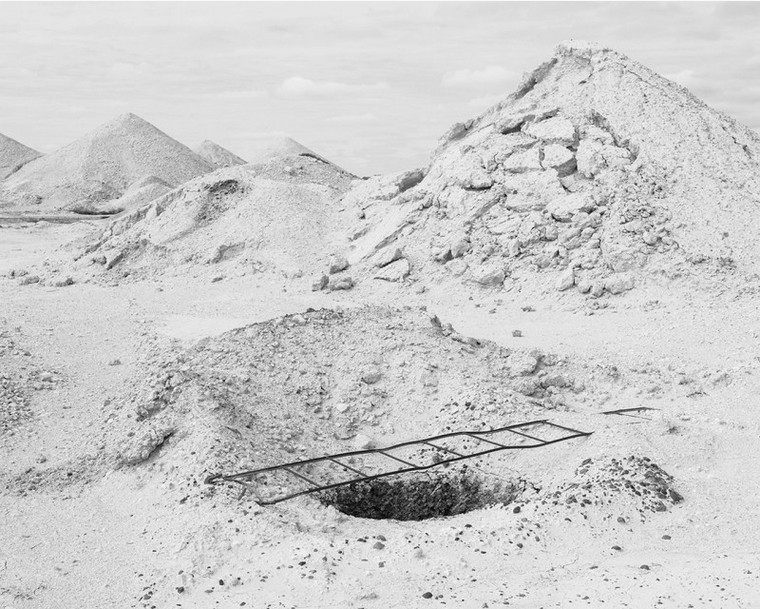 Hole, Coober Pedy, Australia – © Antoine Bruy,  2017 Emerging Photographer Fund winner