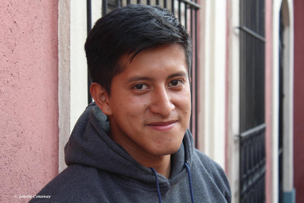 Kevin Jiménez is trying to find a way to stay in Guatemala, but the financial pressures on his family may force him to head for the United States.  Click to see story .