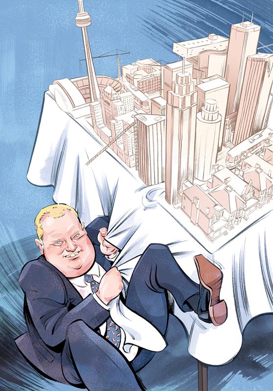 Rob Ford / Toronto Life