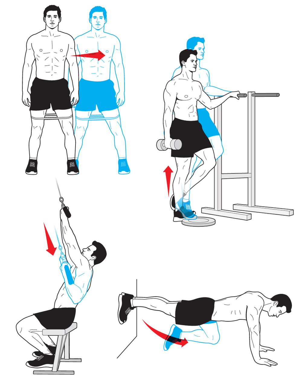 Workouts / Men's Health