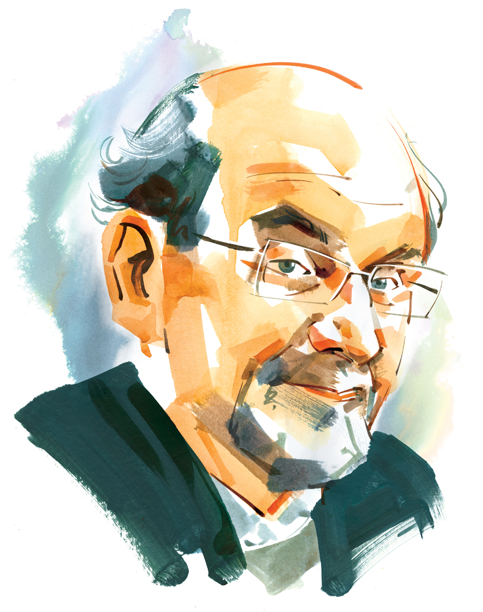 Salman Rushdie / National Post
