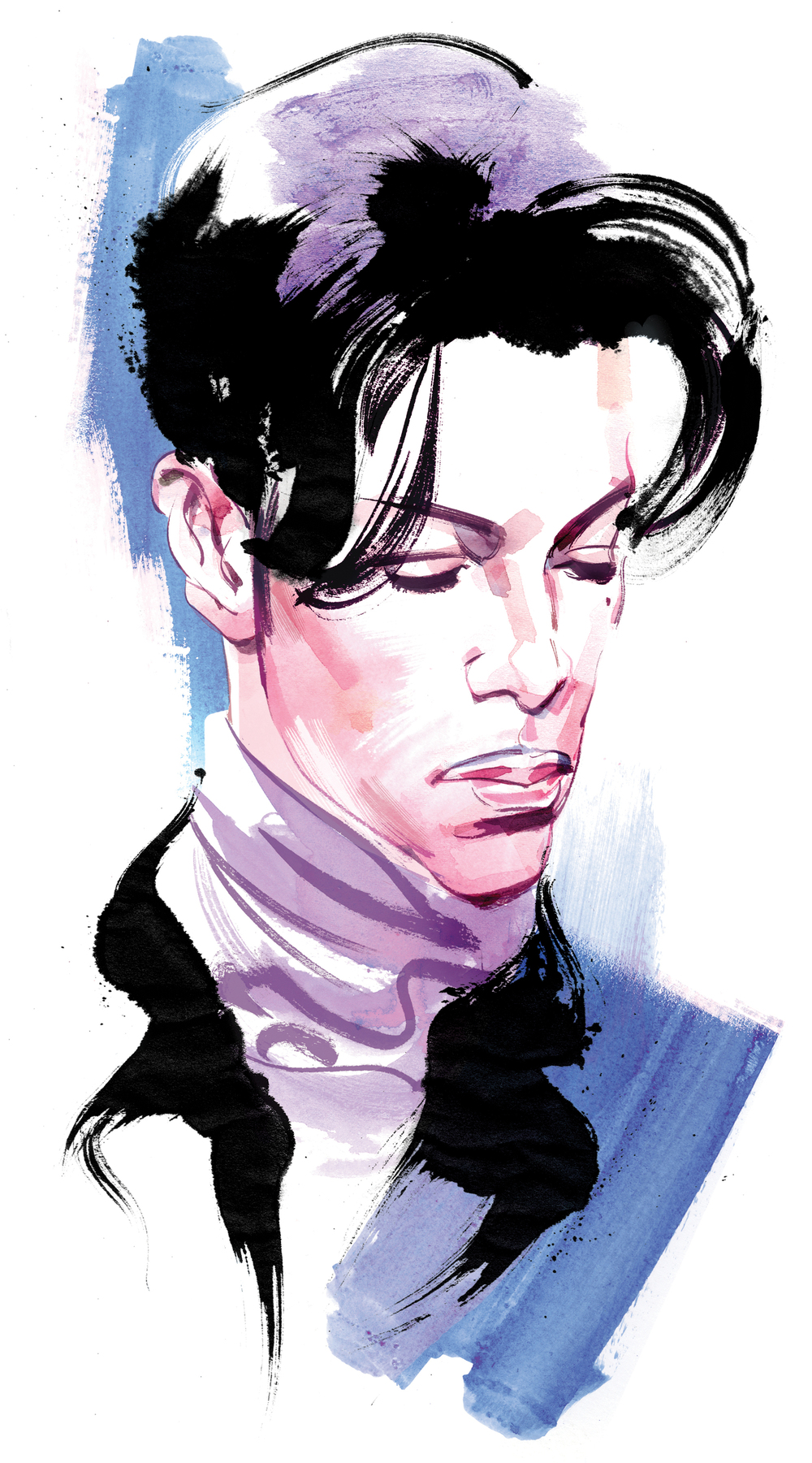 Prince obituary portrait / National Post