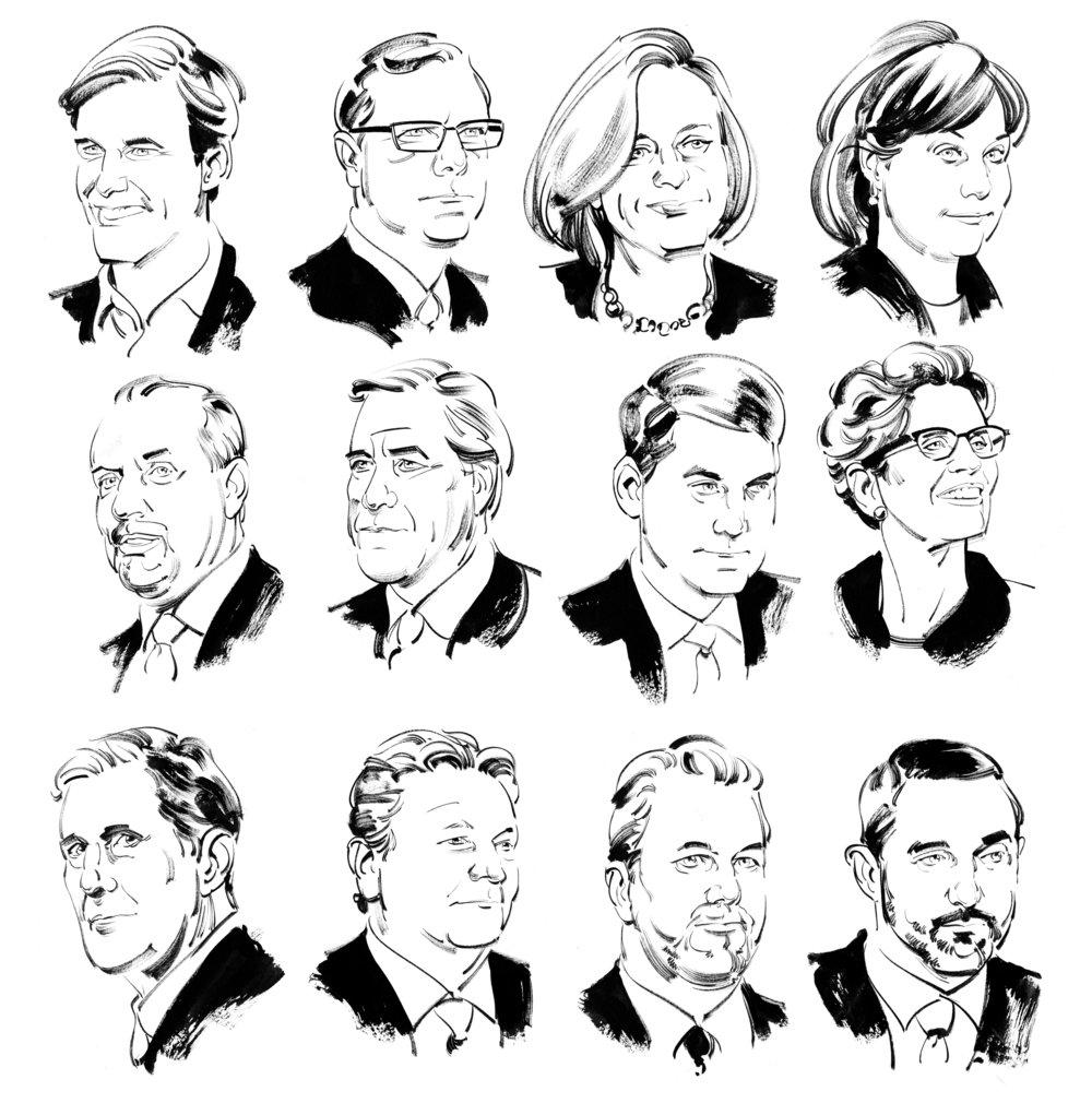 Canada's provincial / territorial leaders