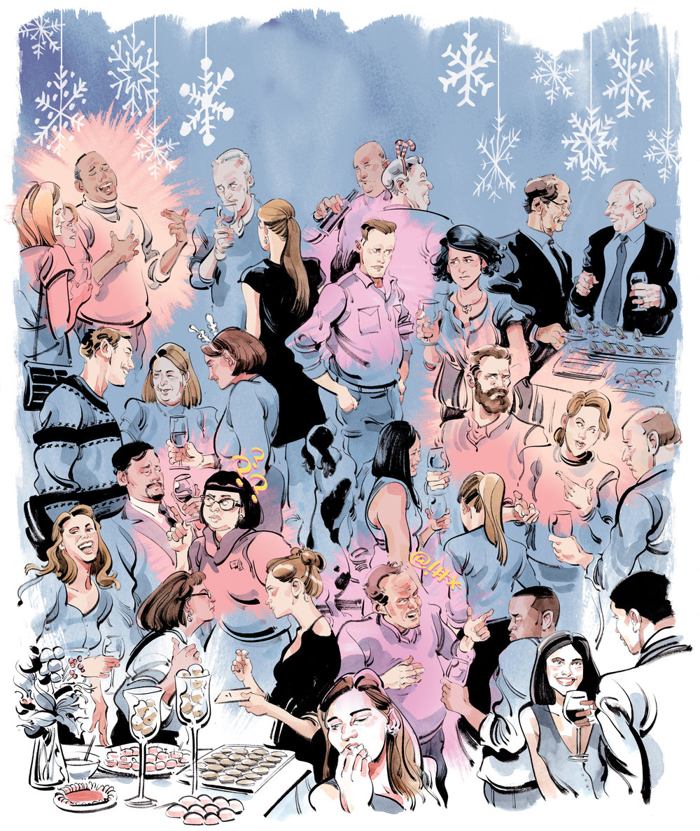 Holiday Party Types / The Globe and Mail