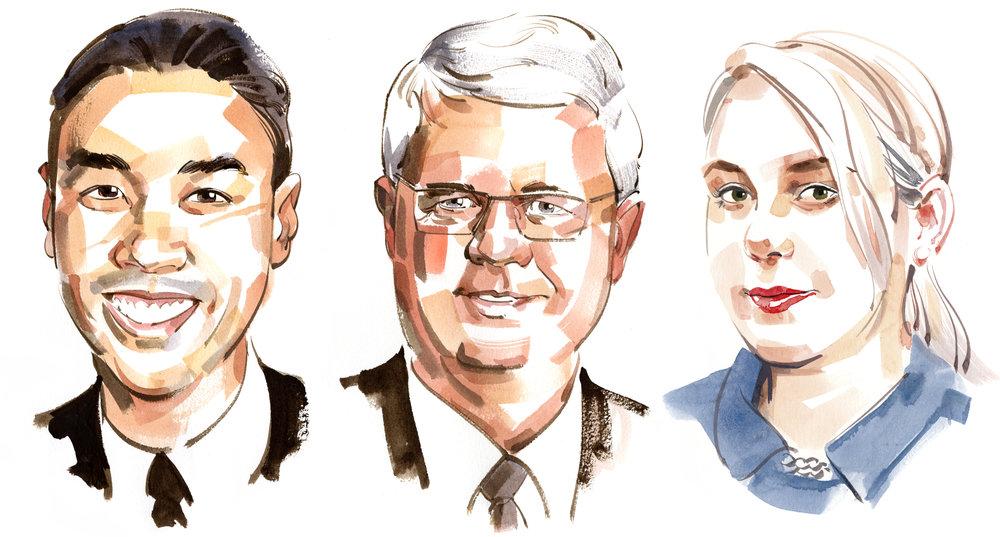 Columnist portraits