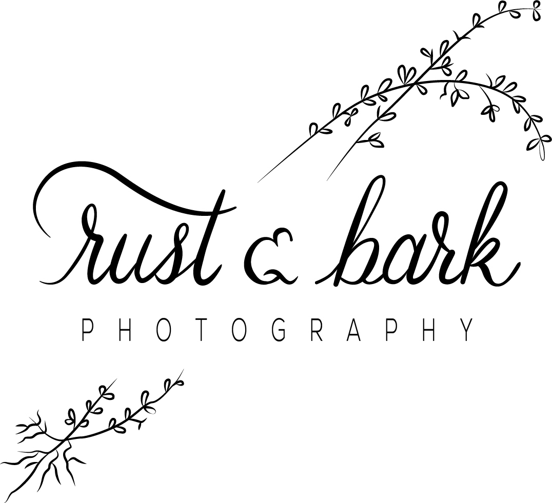 rust & bark wedding photography