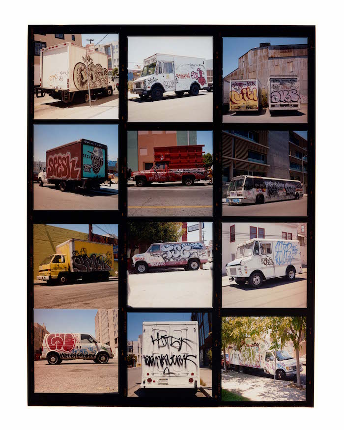 Graffiti Contact Sheet 2004