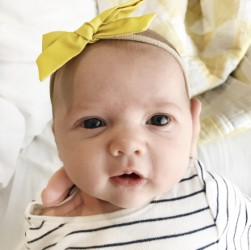 LaBelle Baby bow headband