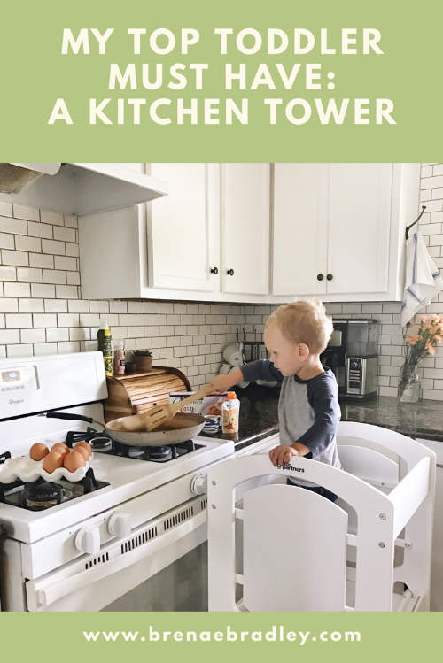 My Top Toddler Must Have: A Learning Tower!