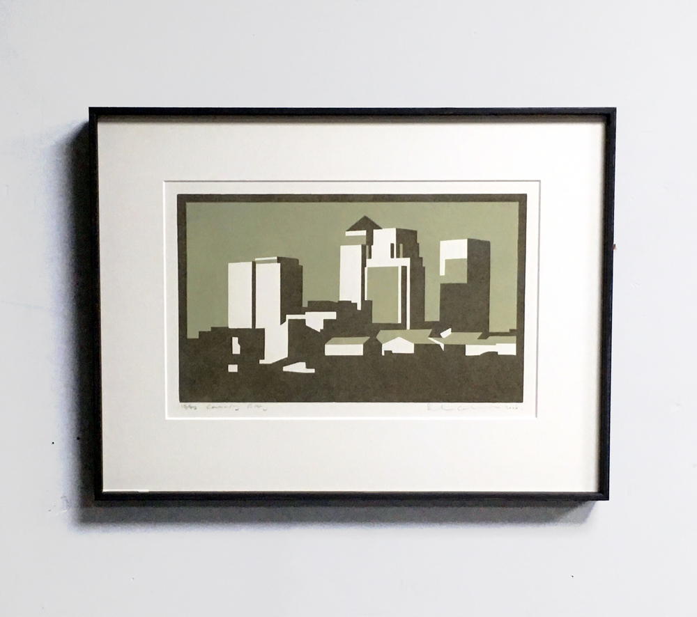 Framed Print with Window Mount