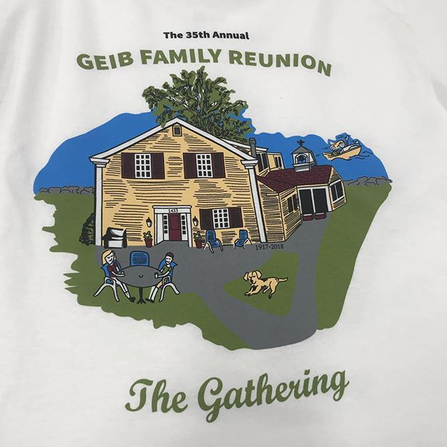Family reunion season!! #screenprinting #familyreunion #cleveland
