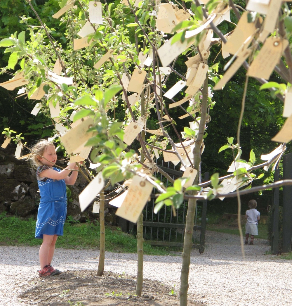 Yoko Ono, Wish Trees for Wanås, 2011.