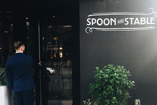 We've had a lot of things to celebrate as of late including our anniversary, Jake's birthday, and...finding the best dessert on this planet earth AKA the rose panna cotta from Spoon & Stable. TRY IT ASAP
